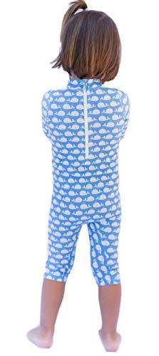 OCOI Traje De Baño para Bebé con Protección Solar UPF50+ Manga Larga – Mono/Bodysuit/Bañador Entero Una Pieza niña y… 4