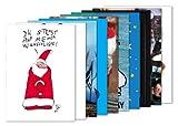 10er-Set: Postkarten A6 +++ MIX SET Nr. 1 von modern times +++ 10 schöne Motive zu WEIHNACHTEN +++