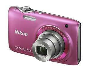 """Nikon Coolpix S3100 Appareil photo numérique compact 14 Mpix Ecran 2,7"""" Zoom optique 5x Rose"""