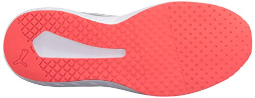 Puma Flare Mesh Synthétique Chaussure de Course Quarry-Red-Blast