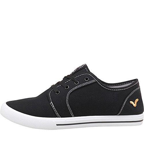 hombres-nios-voi-jeans-sanford-zapatillas-de-lona-encaje-bombas-negro-40