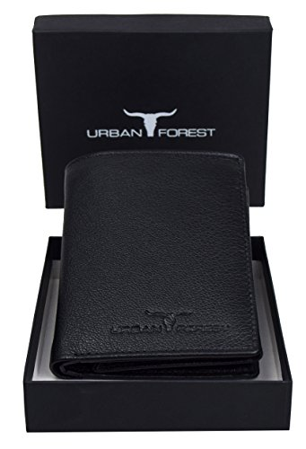 URBAN FOREST Black Men's Wallet
