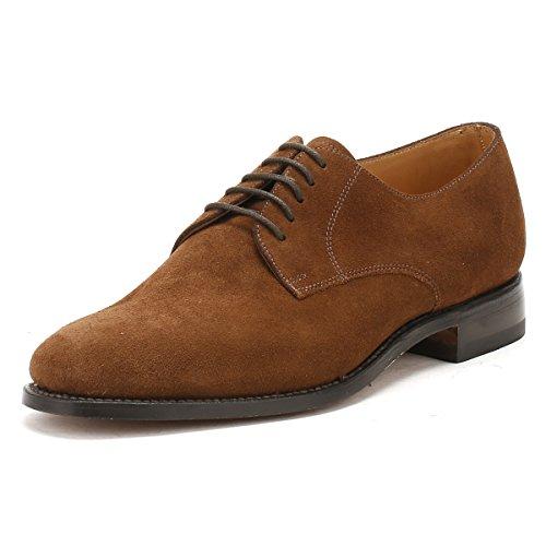 Loake Sharp - Zapatos de cordones de cuero para hombre, color negro, talla 44.5