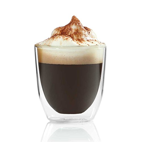 Doppelwandiges Espressoglas 80ml Espressotasse aus Glas Espresso Tasse von Dimono