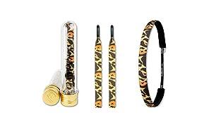 Ivybands & Ivylaces | Leopard Headband & Laces Set | IVYPACK022