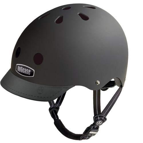 Nutcase Gemusterter Street Bike  für Erwachsene, Schwarz (Blackish), M (56-60 cm)