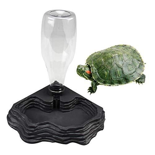 Reptilien Wasserspender,Wasserspender für Reptilien Schildkröten Wasserspender Schildkröten Wasserspender Eidechsen Wassertank Wasser Für Terrarien-Reptilien Wasserspender Tortoise Water Bowl