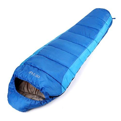 OUTAD Saco De Dormir Momia Impermeable hasta -5 °