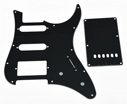 kaish negro 3capas Guitarra Golpeador de Hss Con Placa Trasera Brazo de trémolo para guitarra Yamaha Pacifica