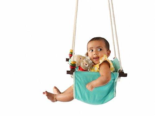 CuddlyCoo Baby / Toddler Swing (Seagreen)