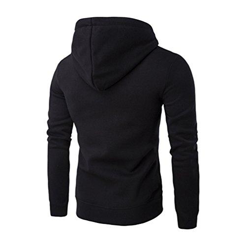 ZKOO-Felpa-con-Cappuccio-Uomo-Zip-Hooded-Sweatshirt-Manica-Lunga-Hoodie-Cappotto-Giacca-Pullover