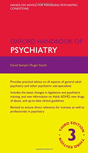 Oxford Handbook of Psychiatry 3/e (Flexicover) (Oxford Medical Handbooks) por From OUP Oxford