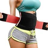 Magicfun Taillenmieder für Damen, Fitnessgürtel Bauchweggürtel Taille Trimmer Sport Powergürtel...