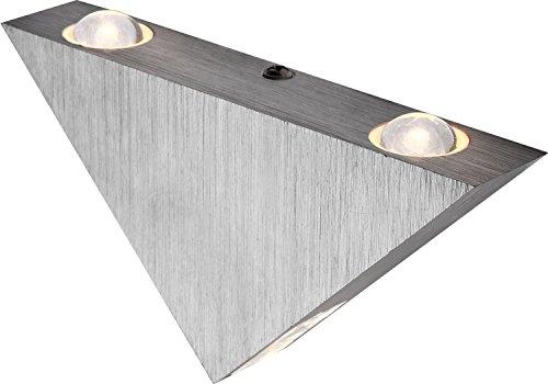 elegante-led-wandleuchte-aluminium-gebrstet-acryl-1w-globo-gordon-7601
