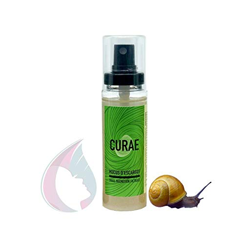 Cosmeto-nature Curae Baba de caracol pura, secreción natural (60ml)