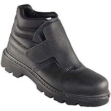 Artelli Soldador S3 HRO Zapatos de Trabajo Profesional de los Zapatos de Alto Negro