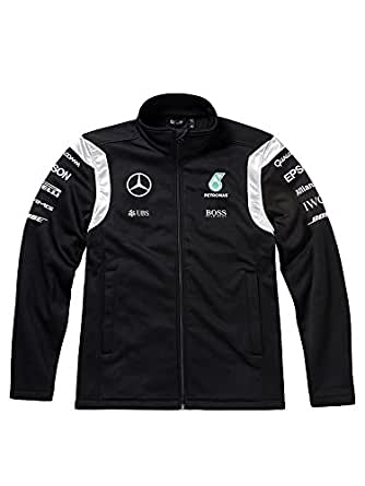 mercedes benz men 39 s blouse jacket black black black. Black Bedroom Furniture Sets. Home Design Ideas