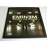 "Eminem - When I'm Gone (F) - Wall Framed 12"" Vinyl Record Sleeve"