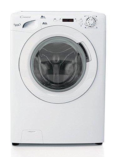 Candy GS 1282D3/1-S Libera installazione Caricamento frontale 8kg 1200Giri/min A+++ Bianco lavatrice
