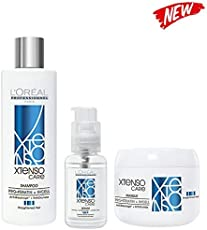 L'Oreal Professionnel Combo of XTenso Care Shampoo 250ml, Masque 196g and Serum 50ml