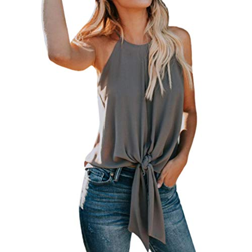 f39bb7417e4e38 Tops Shirt Sale New Women's Button Solid Color Tops Sleeveless Tank TopT-Shirt  Shirt Tops