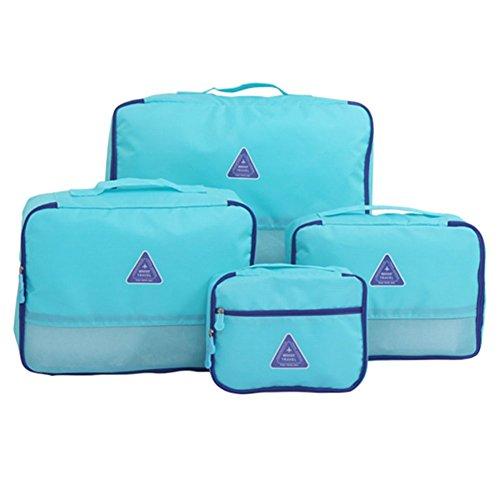 4 Scarpe Pz viaggio dell'organizzatore del sacchetto