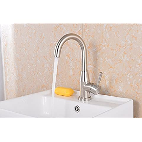 jylw acciaio inossidabile, Home Improvement rubinetti per lavabo calda e fredda, tutti rame rubinetto, Rubinetti (Stainless Steel Bar Sink)