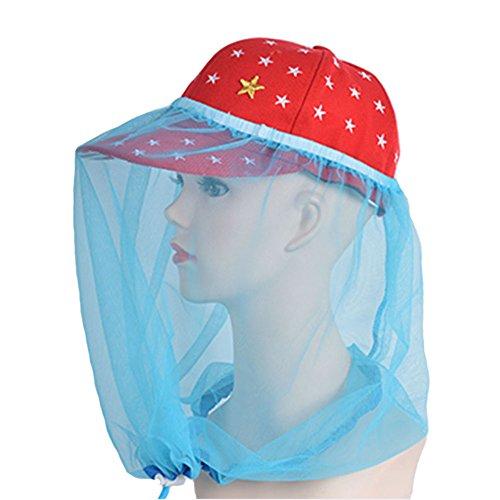 elastic-insectes-head-net-mesh-masque-anti-mosquito-bug-bee-bleu