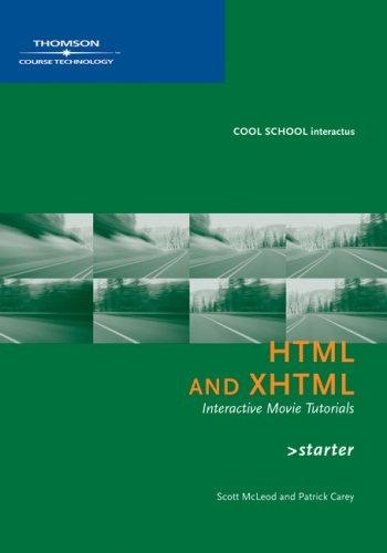New Perspectives on HTML and XHTML. CD-ROM. Starter Interactive Movie Tutorials