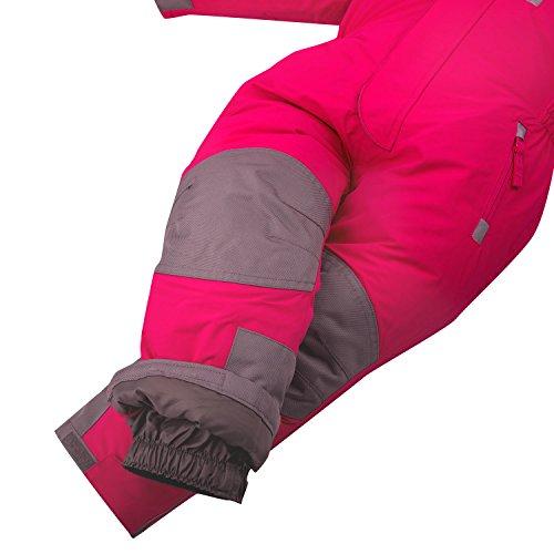 Schneeoverall OUTBURST Overall Kinder skianzug wasserfest Gr. 92 -122 (pink, 104) - 8