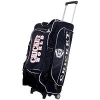 """CW Cricket Deportes equipaje Trolly Kit Negro """"premium calidad asidero llevar Kit de críquet bolsa con ruedas resistentes, color negro. Fabricado con material resistente"""
