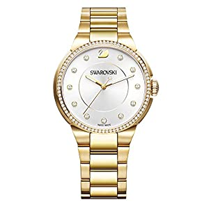 Swarovski City Yellow Gold Tone Pulsera Watch de Swarovski