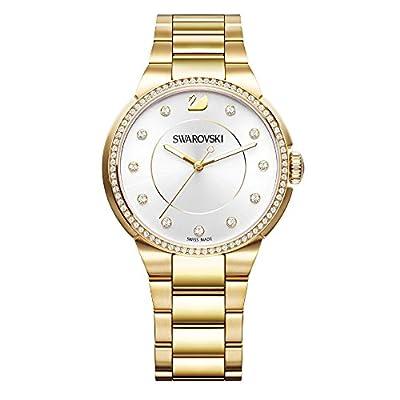 Swarovski City Yellow Gold Tone Pulsera Watch de Swarovski