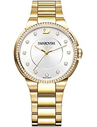 Swarovski City Yellow Gold Tone Pulsera Watch