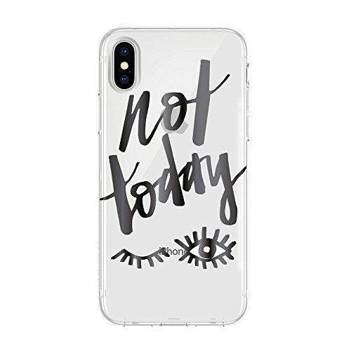 Incipio STOWAWAY Coque de Protection avec Rangement pour Cartes et Billets pour l'iPhone 6/6s - Noir Not Today