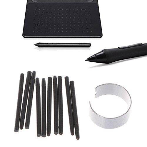 , Standard-Schreibfedern, Stylus für Wacom Zeichenstift, 10 Stück ()