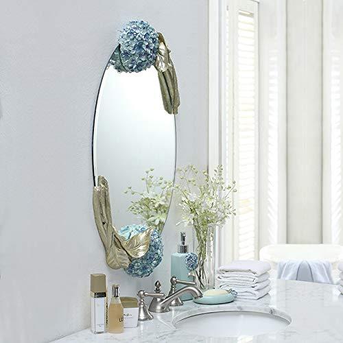 Europäische Geschnitzte Schminkspiegel, Schlafzimmer Dekoration Wand Make-up Badezimmer Eitelkeit -