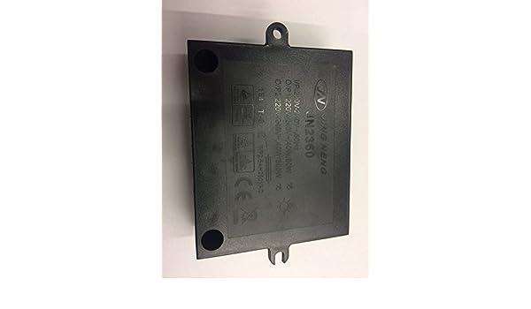 JING NENG JN2360 Variateur /à 2 voies 230 V 40-60 W//230 V 40-300 W