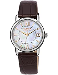 Dugena Damen-Armbanduhr RONDO PETIT Analog Quarz Leder 7000155