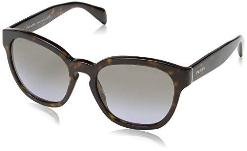 Prada Damen Mod.17RS  Sonnenbrille, Havana/Lillac gradient Light  grey
