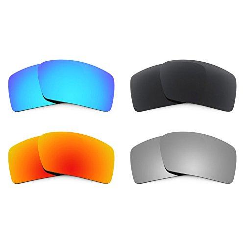 Revant Ersatzlinsen für Oakley Eyepatch 2 Polarisiert 4 Paar Kombipack K018