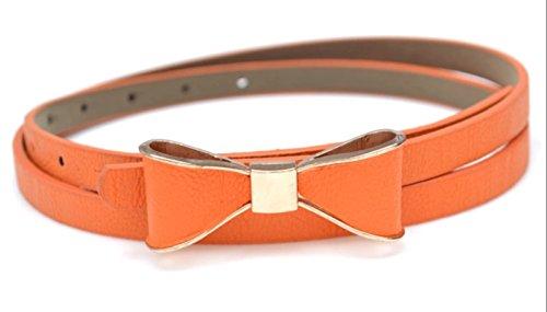 Sucre Belts Damen Gürtel orange orange