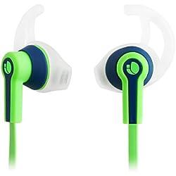 [Cable] NGS Racer Dentro de oído Binaurale Alámbrico Negro, Verde - Auriculares (Binaurale, Dentro de oído, Negro, Verde, Alámbrico, Intraaural, 20 - 20000 Hz)