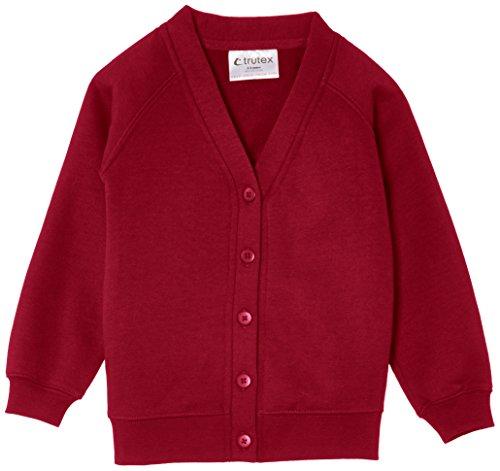 Trutex Limited Unisex, Strickjacke, 260G Sweatshirt Rosa (Vino)