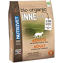 Nutrivet INNE PET FOOD Aliment Complet Bio pour Chat Adulte 6 kg