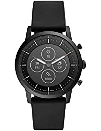 Fossil Collider Hybrid Hr Smartwatch Black Dial Men's Watch - FTW7010