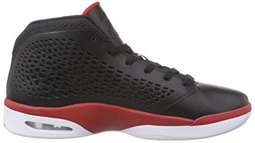 NikeJordan Flight 2015 - Scarpe da Basket Uomo Nero (Schwarz (Black/White/Gym Red))