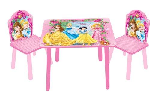 Tavolino Disney Legno.Jnh Europe Ltd Tavolo Con Sedie In Legno E Mdf Con