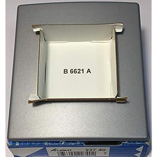 Arnold 22740 – Serie Light – Rahmen 1-fach – Dunkelgrau Metall