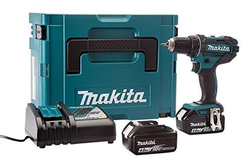Makita DDF482RMJ Perceuse visseuse en coffret Makpac avec 2 batteries 18 V 4 Ah